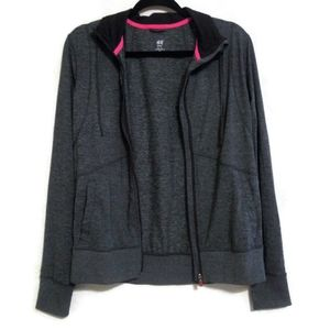 H&M sport long sleeve jacket Size L